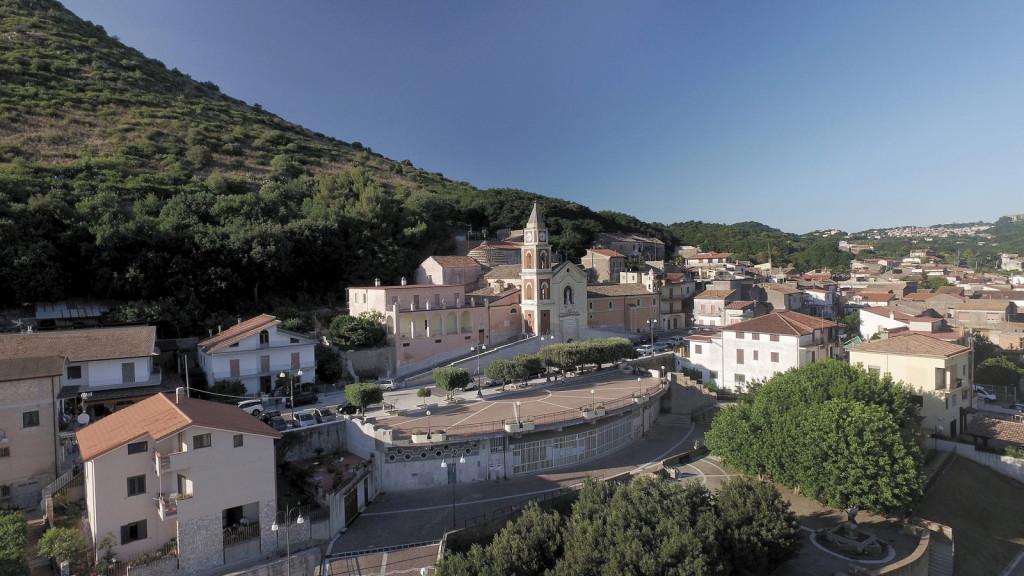 Veduta di Piana di Monte Verna (Ce)